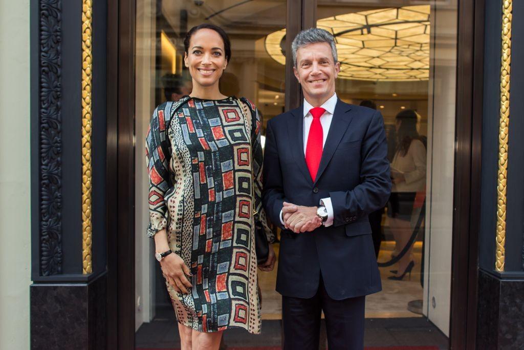 resized_Jaeger-LeCoultre London Flagship Housewarming - Carmen Chaplin & Daniel Riedo (2)