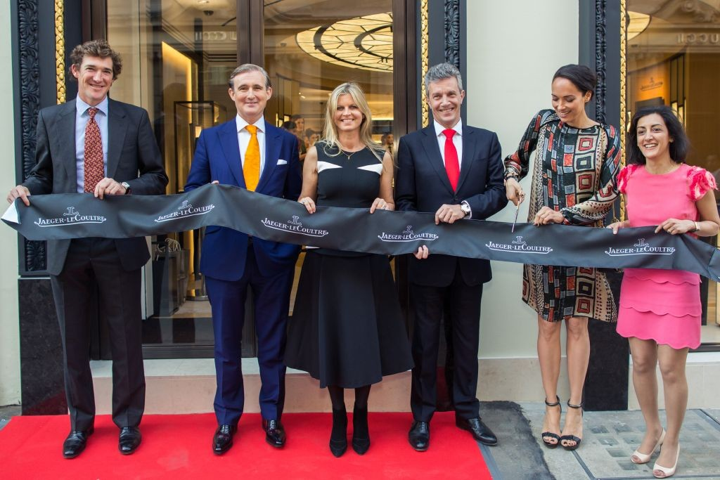 resized_Jaeger-LeCoultre Ribbon Cutting Ceremony