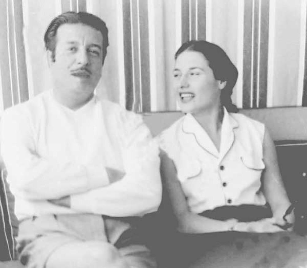أنور وجدي وليلي فوزي - الراقية