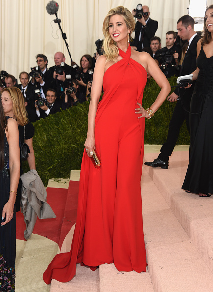 IVANKA TRUMP IN RALPH LAUREN
