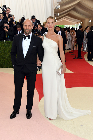 JASON STATHAM AND ROSIE HUNTINGTON-WHITELEY WEAR RALPH LAUREN
