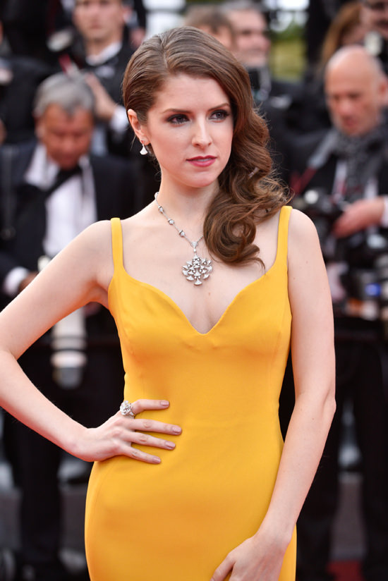 Anna Kendrick Justin Timberlake Cannes Film Festival Red