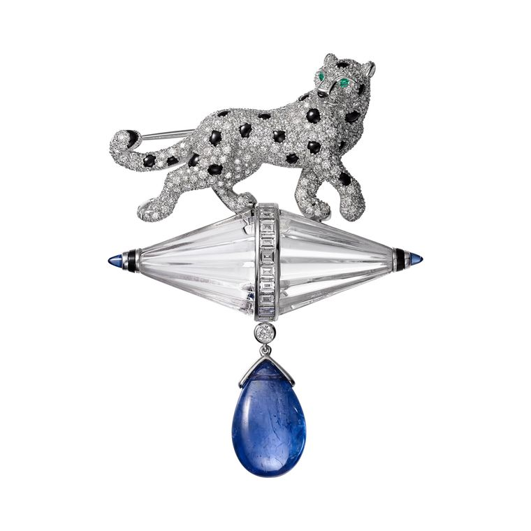 cartier_etourdissant_sapphire_emerald_diamond_onyx_brooch