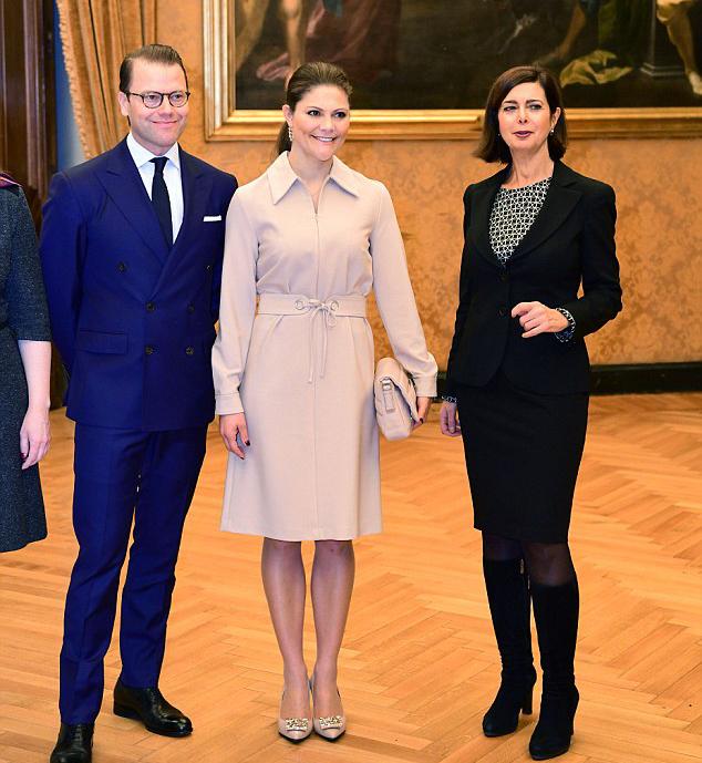 الأميرة فيكتوريا تزور إيطاليا