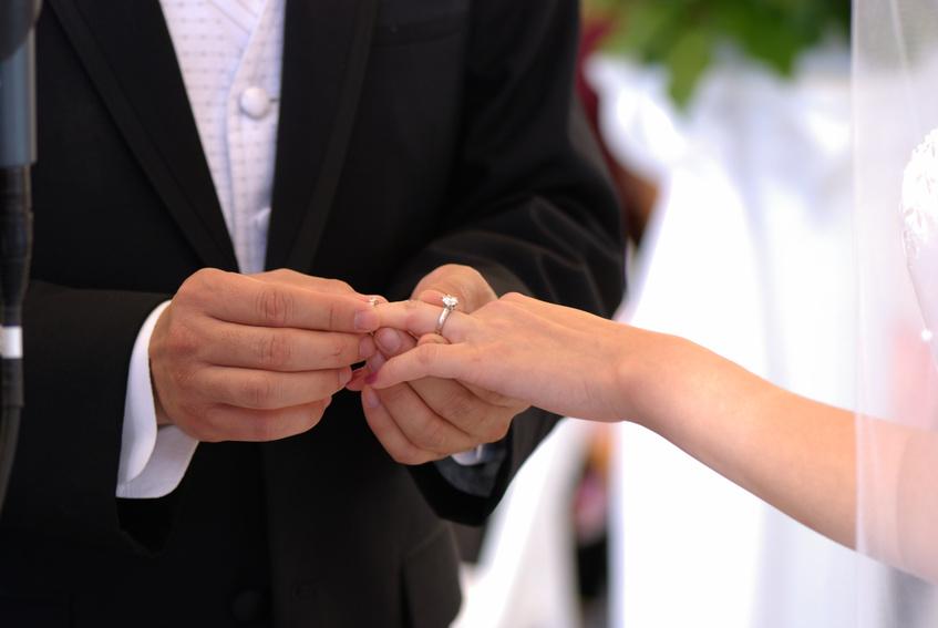 أغرب حفل زفاف في العالم