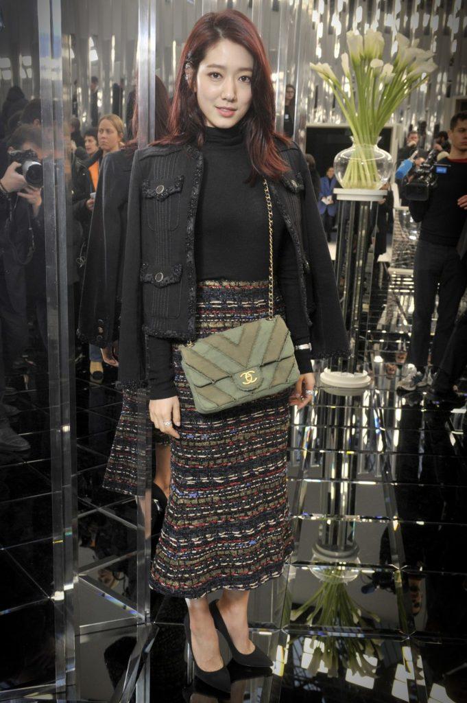 الممثلة الكورية باك شن هي