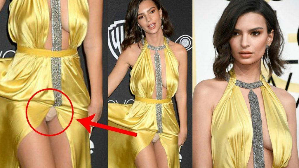 لسوء الحظ فإن إميلي لم تكن حذرة بما يكفي أثناء استعراضها لفستان الجذاب