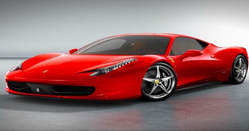 سويسري يشتري لوحة سيارة بثمن سيارة فيراري