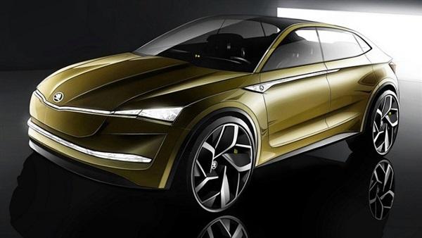 سيارة Skoda Vision E