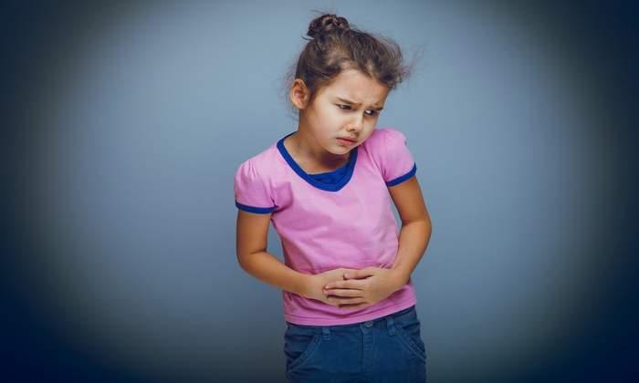 أسباب آلام المعدة عند الاطفال