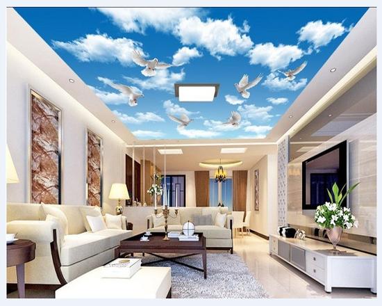 احدث اشكال ورق الحائط ال3D لـ ديكورات غرف المعيشة