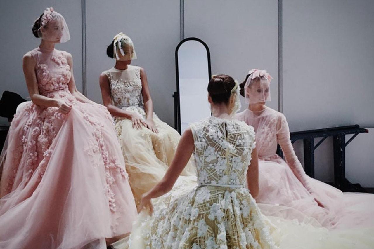 فساتين الزفاف الملونة بغير اللون الأبيض موضة 2017