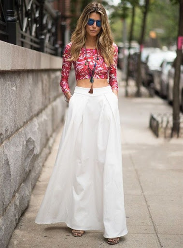 (11)maxi skirt outfit ideas for spring or summer 2015-2016