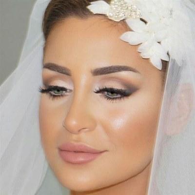 إطلالات لأجمل مكياج عروس على انستغرام