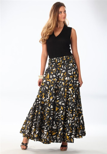 (14)maxi skirt outfit ideas for spring or summer 2015-2016