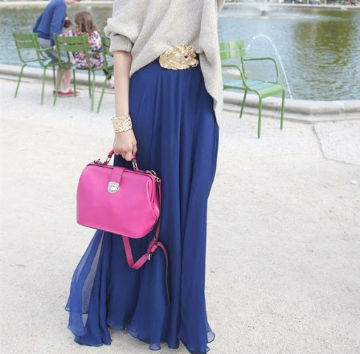 (17)maxi skirt outfit ideas for spring or summer 2015-2016
