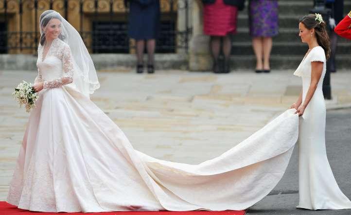 بيبا في زفاف كيت ميدلتون