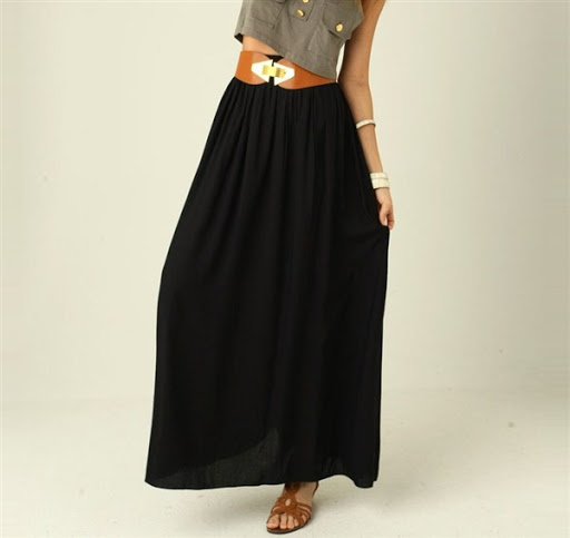 (2)maxi skirt outfit ideas for spring or summer 2015-2016