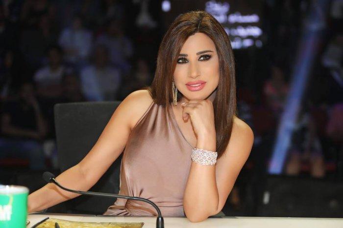 اطلالة نجوي كرم في برنامج عرب غوت تالنت