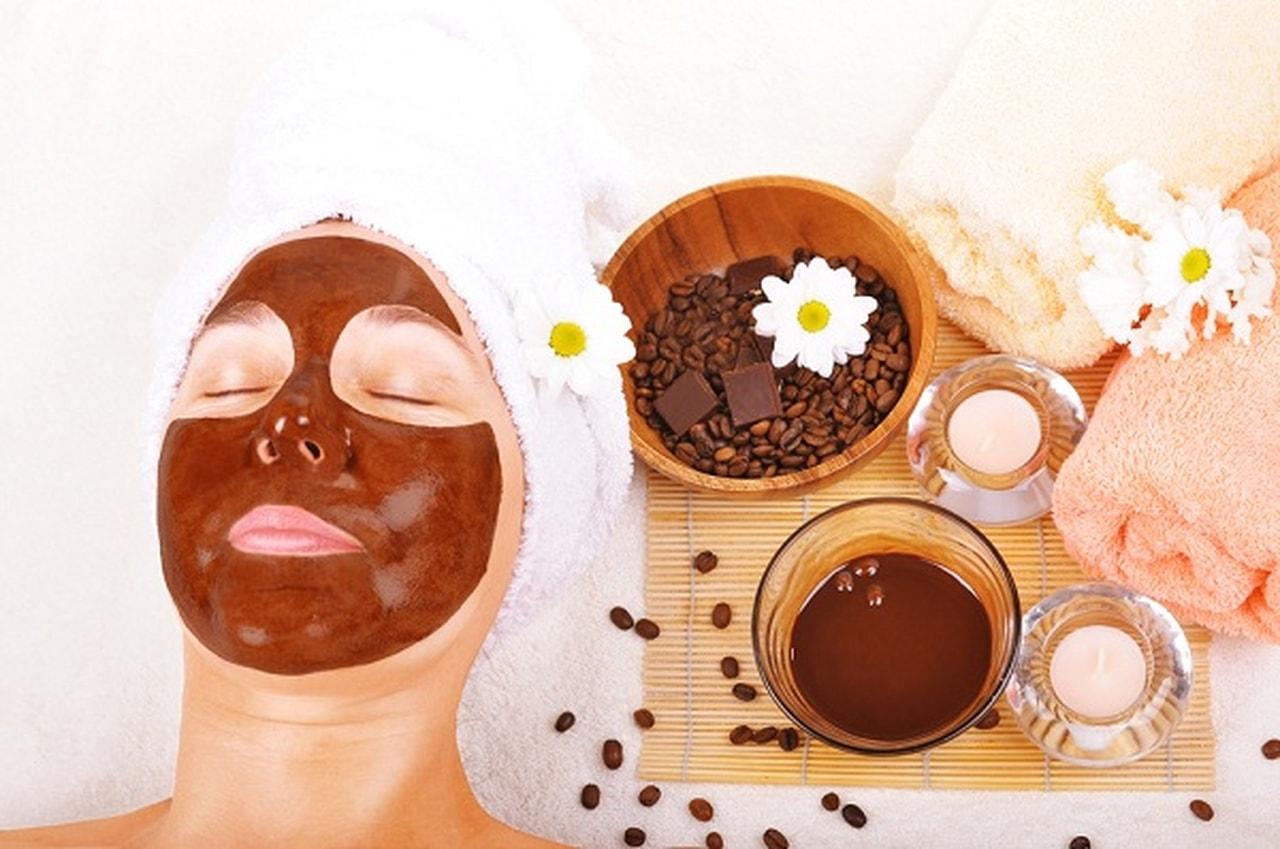 ماسك القهوة والكاكاو