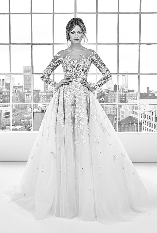 698b5053ef86f بالصور فساتين زفاف من تصميم زهير مراد