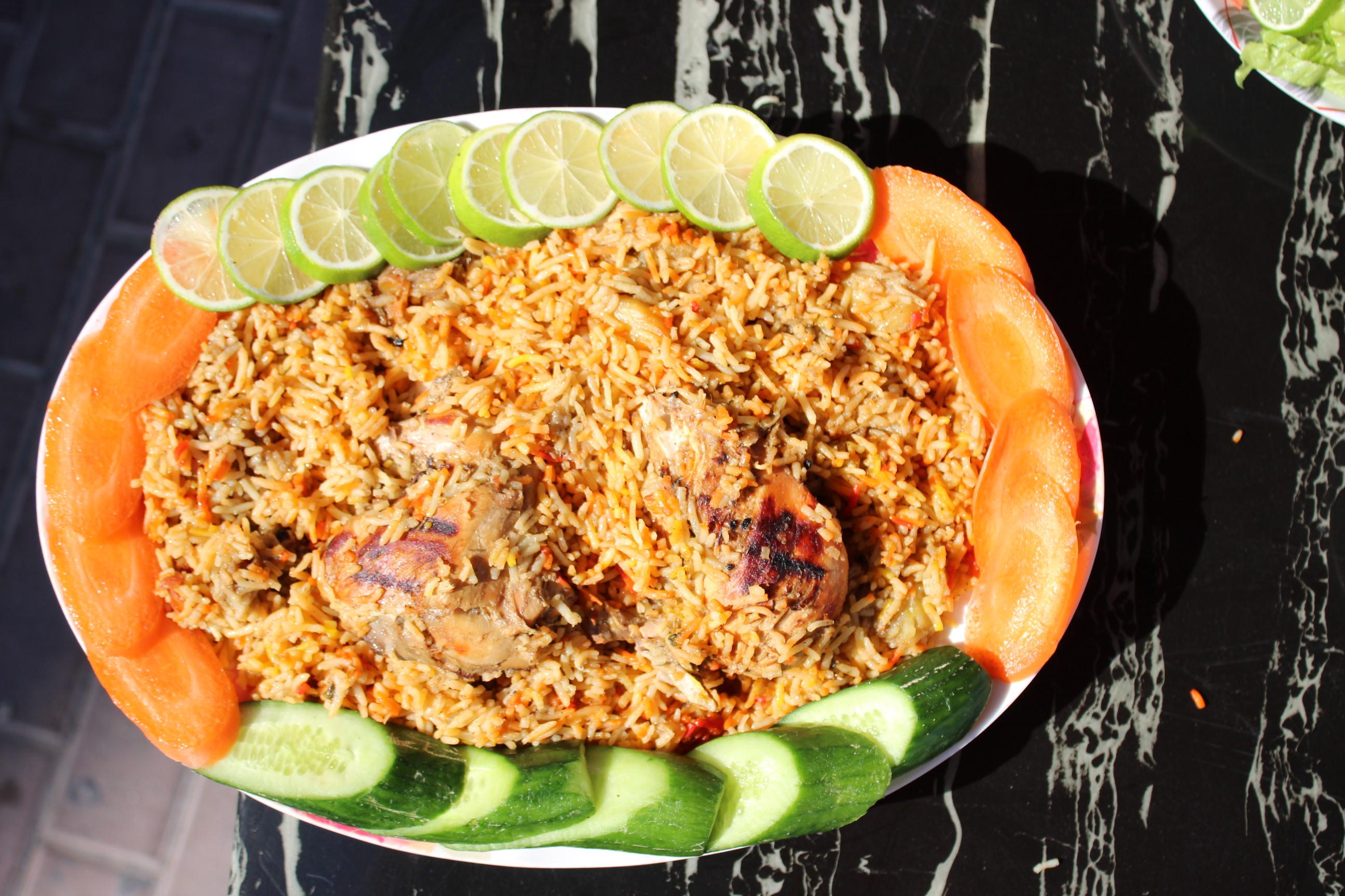 Chicken Zorbian زربيان الدجاج أكلة يمنية شهية وجميلة