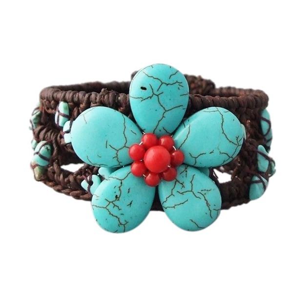 Cotton-and-Wire-Turquoise-Coral-Flower-Cuff-Bracelet-Thailand-85388c76-e621-4f30-a350-d711e5e6556c_600