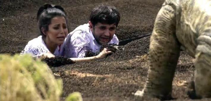 """مصطفي خاطر ضحية الحلقة 3 من برنامج """"رامز تحت الارض"""""""