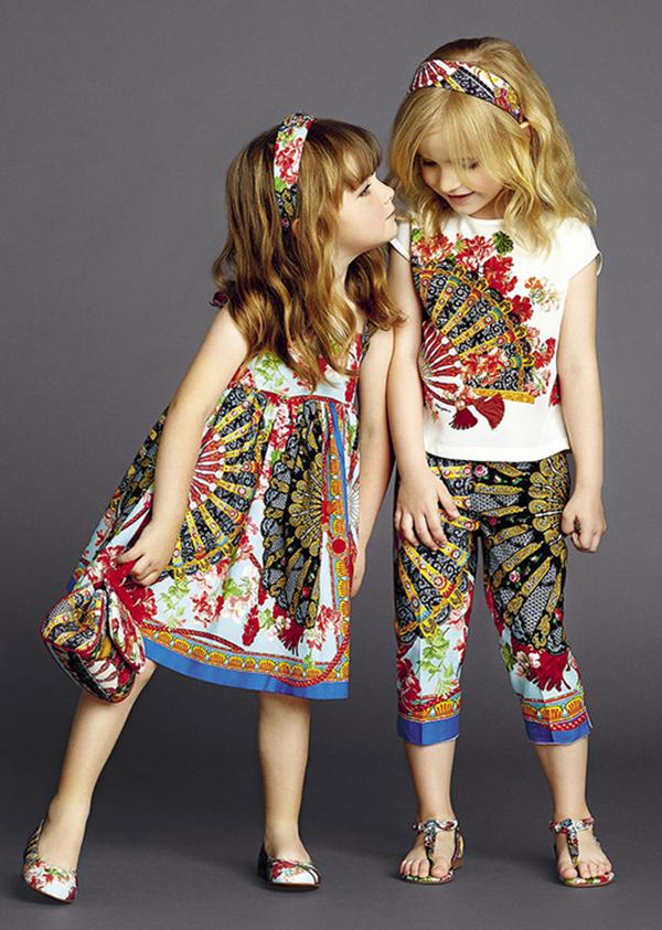 موضة ملابس اطفال لربيع وصيف 2017