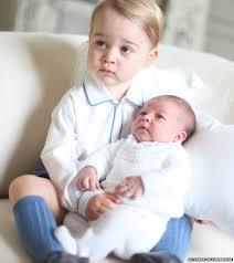 الأمير جورج والأميرة شارلوت