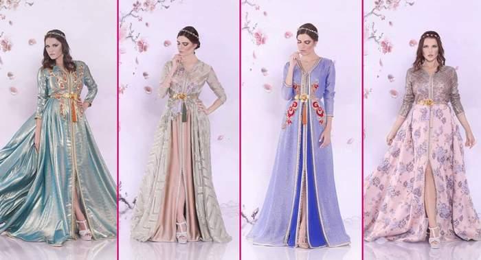 القفطان المغربي مجموعة رمضان 2017 من دار أزياء سلمى بن عمر