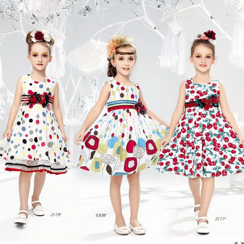 be6fe41b763c9 موديلات ملابس اطفال صيفية لاطلالة انيفة في العيد