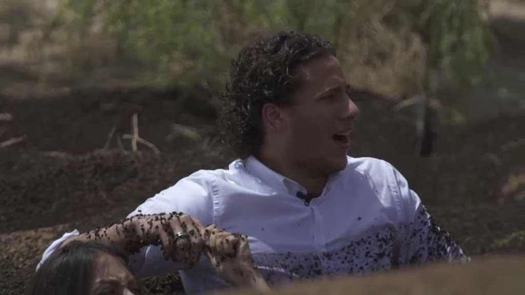 رمضان صبحي ضحية الحلقة الثامنة من برنامج رامز تحت الارض