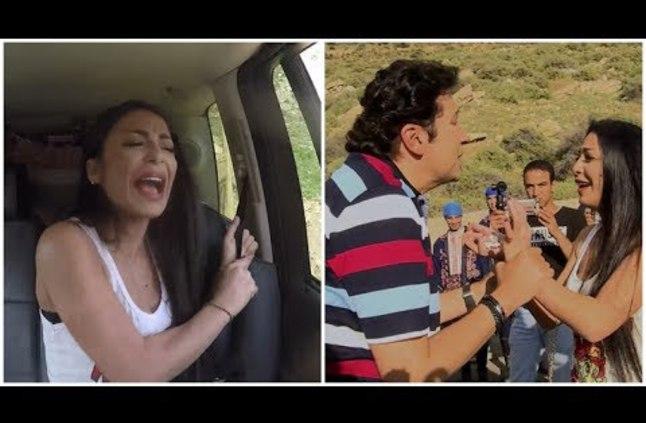 دوللى شاهين ضحية هانى رمزى في الحلقة 11 من برنامج هاني هز الجبل