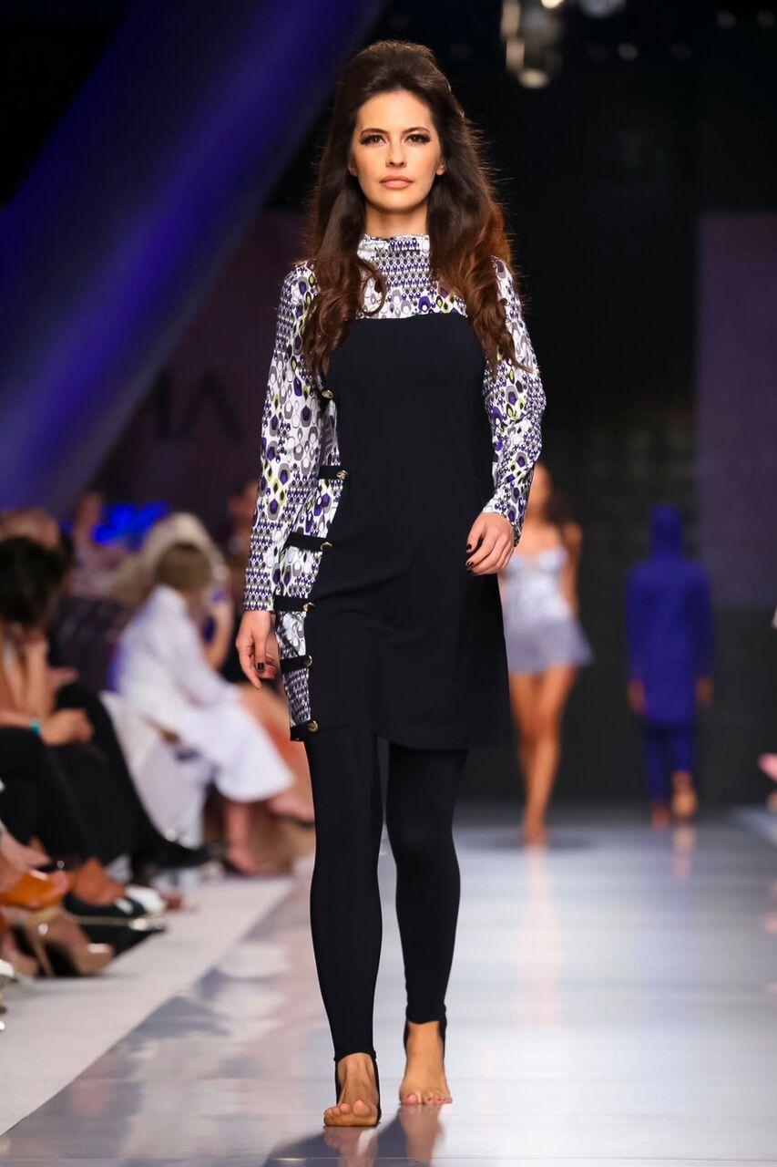 """عايشة ريزورت ٢٠١٨ """"لازور"""" في أسبوع الموضة العربية رحلة إلى المحيط وما يكمن تحت سطحه من جمال"""