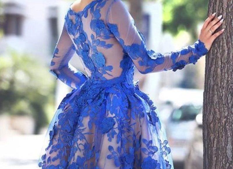 الأزرق الدانتيل