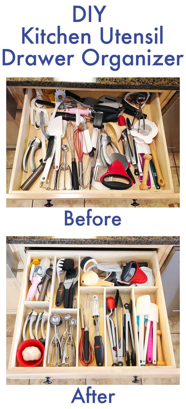 ترتيب أدوات المطبخ