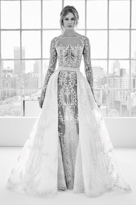 902c8e3a9 فساتين زفاف زهير مراد ربيع وصيف 2018 | الراقية