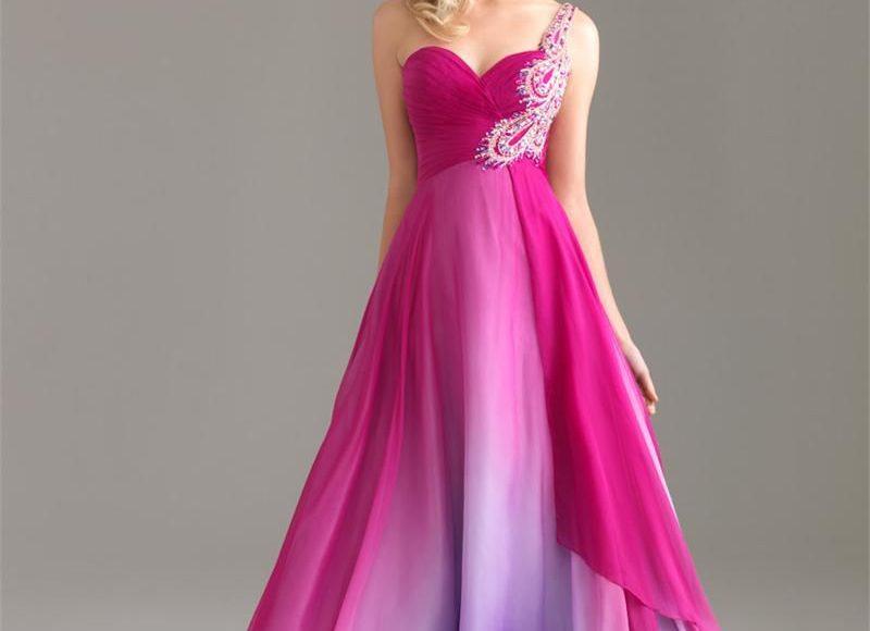 فستان الأميرات بنفسجي اللون