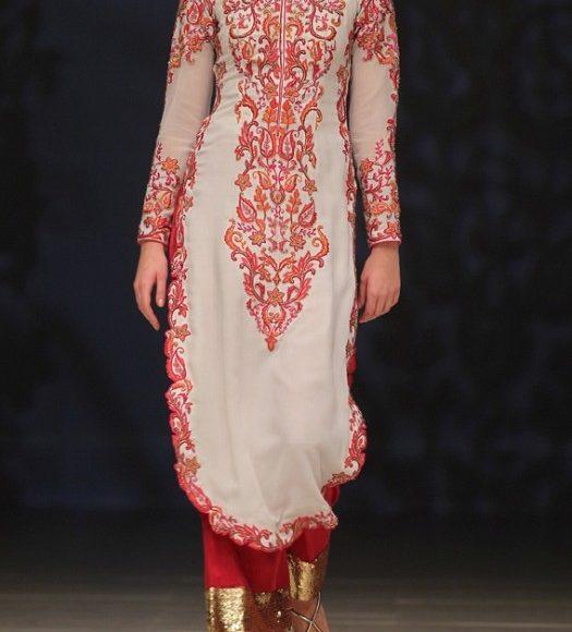 ثوب هندي بسيط
