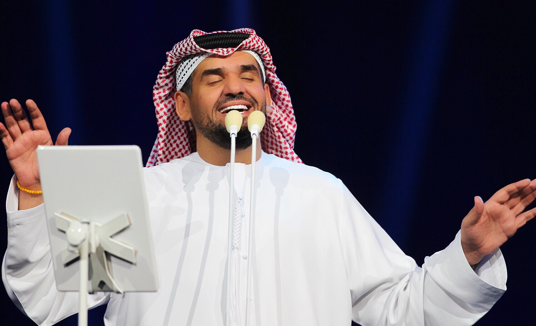 حسين الجسمي ينثر الأنغام الإحتفالية والفرح في حفل تاريخي بالرياض