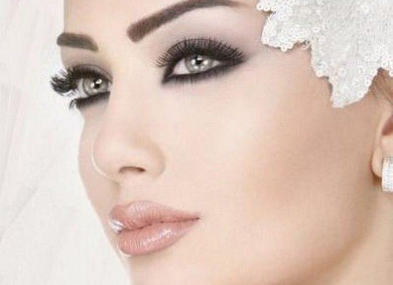 مكياج عيون سموكي جذاب للعروس الراقية