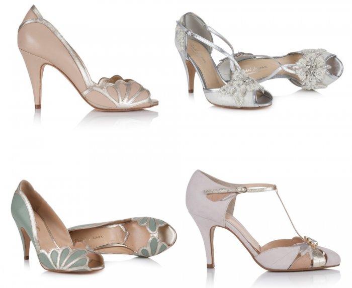 c10f7ab85 احدث موديلات أحذية ملونة لاطلالة جريئة للعروس | الراقية