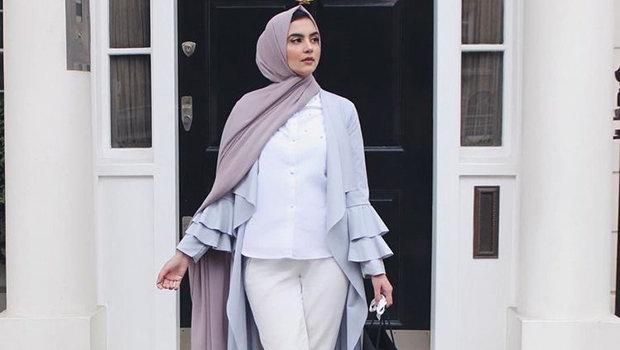 cdd1d60e4 مجموعة ازياء للمحجبات مستوحاة من مدونة الموضة زارا   الراقية