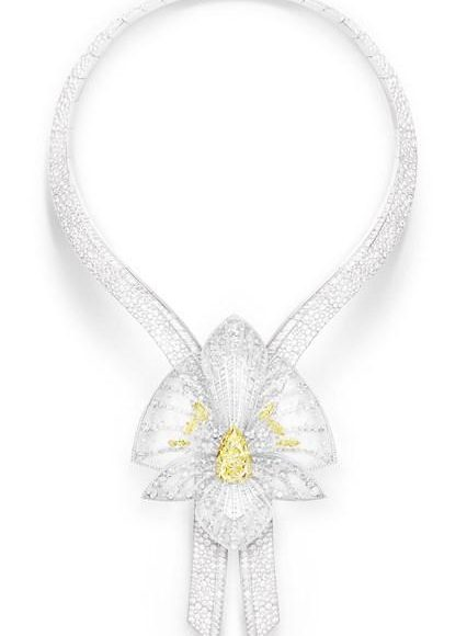 بالصور تشكيلة مجوهرات مرصعة بالالماس واللؤلؤ لعروس 2017