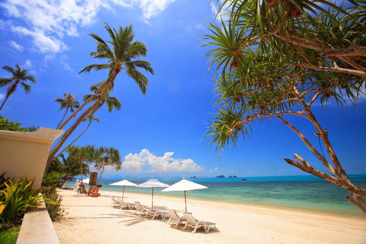 جزيرة كو ساموى فى جنوب تايلاند