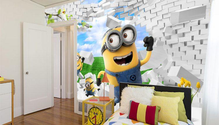 ورق حائط ديكورات لغرفة نوم أطفال