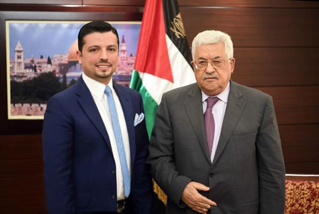 الدكتور مجد ناجي في زيارة لدولة فلسطين