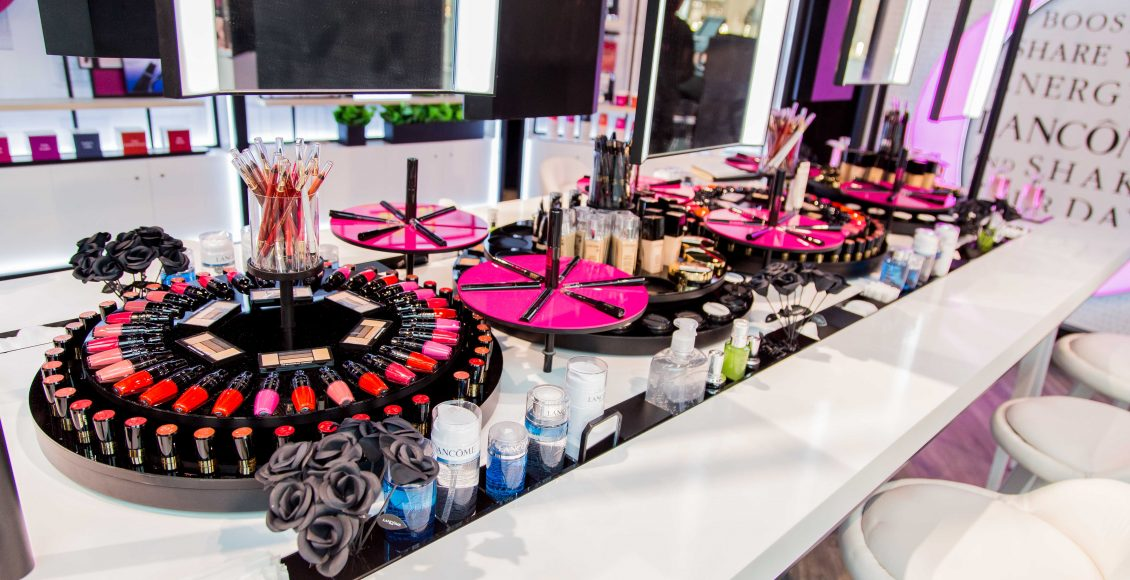 صور من المتجر الجديد المؤقت في دبي
