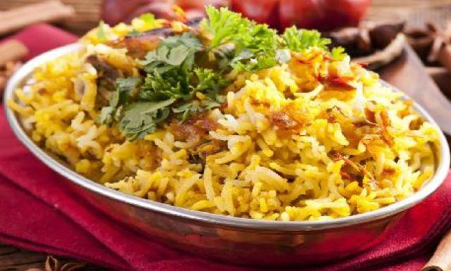 برياني دجاج بجوز الهند على الطريقة الهندية